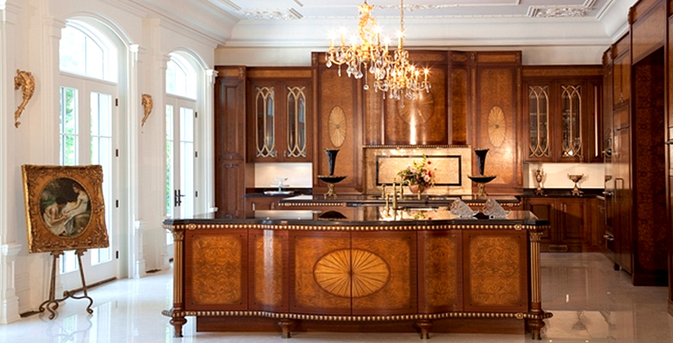 Louis Philippe inspired kitchen